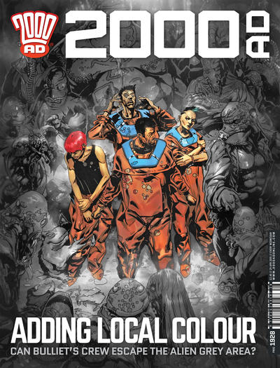 Cover for 2000 AD (Rebellion, 2001 series) #1928