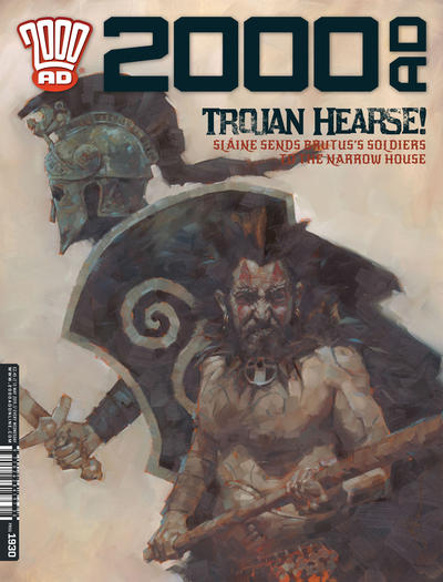 Cover for 2000 AD (Rebellion, 2001 series) #1930