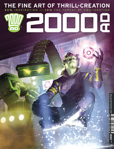 Cover for 2000 AD (Rebellion, 2001 series) #1932