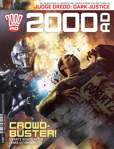 Cover for 2000 AD (Rebellion, 2001 series) #1914