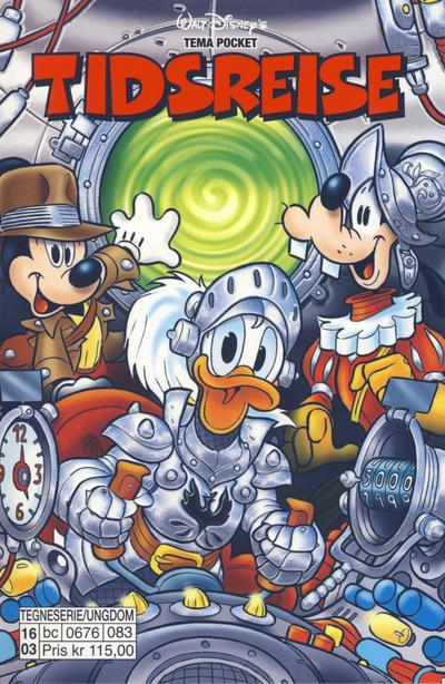 Cover for Donald Duck Tema pocket; Walt Disney's Tema pocket (Hjemmet / Egmont, 1997 series) #[79] - Tidsreise