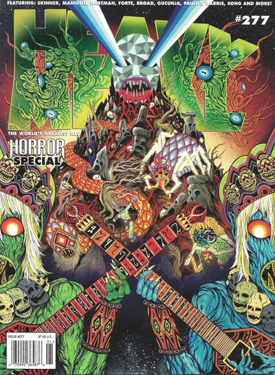 Cover for Heavy Metal Magazine (Heavy Metal, 1977 series) #277 - Horror Special [Cover A]