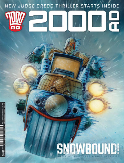 Cover for 2000 AD (Rebellion, 2001 series) #1940