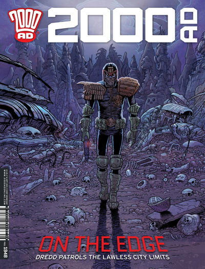 Cover for 2000 AD (Rebellion, 2001 series) #1948