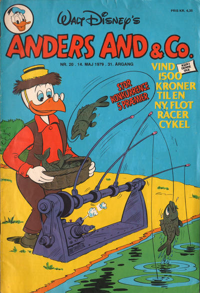 Cover for Anders And & Co. (Egmont, 1949 series) #20/1979