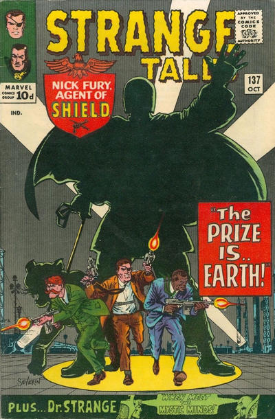 Cover for Strange Tales (Marvel, 1951 series) #137 [Regular Edition]