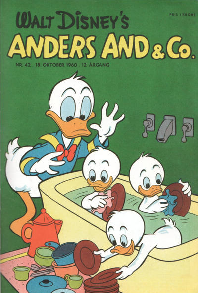 Cover for Anders And & Co. (Egmont, 1949 series) #42/1960