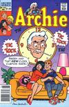 Cover for Archie (Archie, 1959 series) #378 [Newsstand]