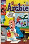 Cover for Archie (Archie, 1959 series) #387 [Newsstand]