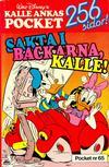 Cover for Kalle Ankas pocket (Richters Förlag AB, 1985 series) #65 - Sakta i backarna, Kalle!