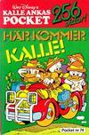 Cover for Kalle Ankas pocket (Richters Förlag AB, 1985 series) #74 - Här kommer Kalle!