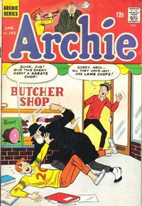 Cover Thumbnail for Archie (Archie, 1959 series) #163