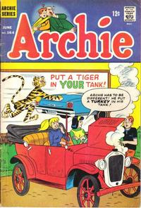 Cover Thumbnail for Archie (Archie, 1959 series) #164