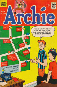 Cover Thumbnail for Archie (Archie, 1959 series) #165