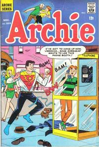 Cover Thumbnail for Archie (Archie, 1959 series) #168