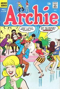 Cover Thumbnail for Archie (Archie, 1959 series) #174