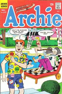 Cover Thumbnail for Archie (Archie, 1959 series) #177