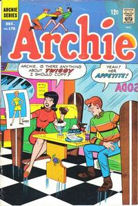 Cover Thumbnail for Archie (Archie, 1959 series) #178