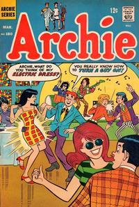 Cover Thumbnail for Archie (Archie, 1959 series) #180