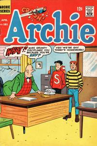 Cover Thumbnail for Archie (Archie, 1959 series) #181