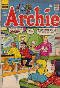 Cover for Archie (Archie, 1959 series) #182