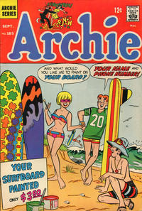 Cover Thumbnail for Archie (Archie, 1959 series) #185