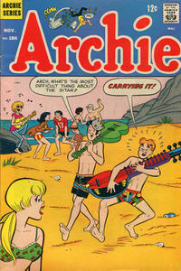 Cover Thumbnail for Archie (Archie, 1959 series) #186