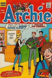 Cover Thumbnail for Archie (Archie, 1959 series) #189