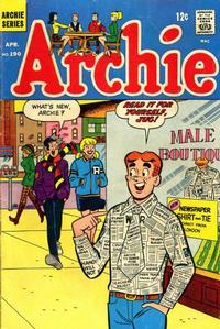 Cover Thumbnail for Archie (Archie, 1959 series) #190