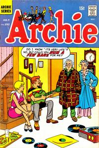 Cover Thumbnail for Archie (Archie, 1959 series) #192