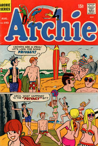Cover Thumbnail for Archie (Archie, 1959 series) #193