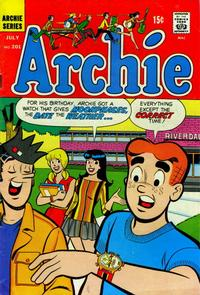 Cover Thumbnail for Archie (Archie, 1959 series) #201