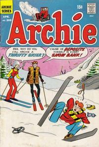Cover for Archie (Archie, 1959 series) #208