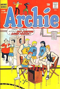 Cover for Archie (Archie, 1959 series) #209