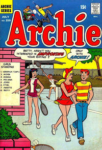 Cover Thumbnail for Archie (Archie, 1959 series) #210