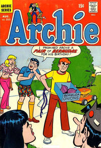 Cover Thumbnail for Archie (Archie, 1959 series) #211