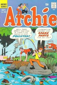 Cover for Archie (Archie, 1959 series) #212