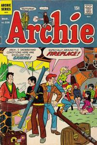 Cover Thumbnail for Archie (Archie, 1959 series) #216