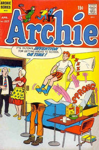 Cover Thumbnail for Archie (Archie, 1959 series) #217