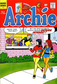 Cover Thumbnail for Archie (Archie, 1959 series) #219