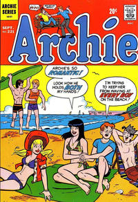 Cover Thumbnail for Archie (Archie, 1959 series) #221