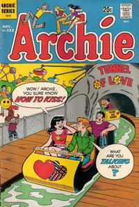 Cover Thumbnail for Archie (Archie, 1959 series) #222