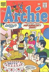Cover Thumbnail for Archie (Archie, 1959 series) #223