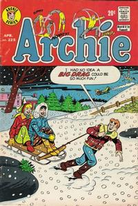 Cover Thumbnail for Archie (Archie, 1959 series) #225