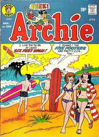 Cover Thumbnail for Archie (Archie, 1959 series) #230