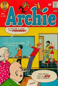 Cover Thumbnail for Archie (Archie, 1959 series) #231