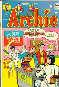 Cover Thumbnail for Archie (Archie, 1959 series) #232