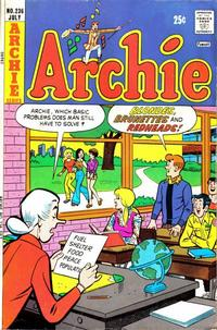 Cover Thumbnail for Archie (Archie, 1959 series) #236