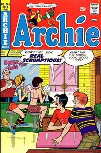 Cover Thumbnail for Archie (Archie, 1959 series) #245