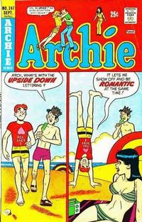 Cover Thumbnail for Archie (Archie, 1959 series) #247